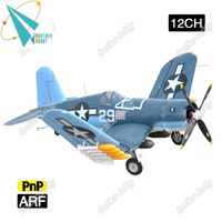 1600mm wingspan F4U Corsair 12CH Electric EPO foam r c airplane