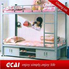New design cheap pink bunk bed