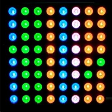 5 мм полный-цвет матричный