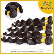 Hot selling virgin european remy hair weaving extensions loose deep wave