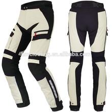 Custom mens racing plus size leather motorbike suit windproof motorcycle pants