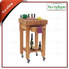 Modern bamboo Kitchen rack , Kitchen trolley, Kitchen shelf