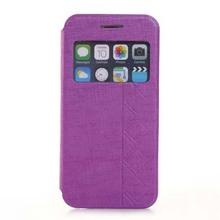 Fabulous fine plaid flip for iphone 6 cover 4.7''