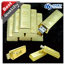 hight quality products gold plated gift items with usb flash drive gift idea, promotion gift.