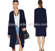military uniform wind OL models big clothing pocket large lapel badges double simple navy blue coat