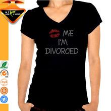 Kiss me I'm Divorced 100% cotton short sleeve t-shirt