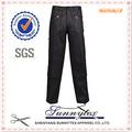 sunnytex 2014 oem diseño de pantalones de trabajo de venta al por mayor negro en trabajador de la fábrica práctico
