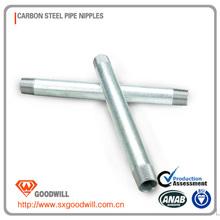 hot galvanized steel pipe zinc coating volume