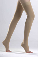 medical compression stockins Thigh length with silicone band
