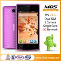 4.0 pouces. meilleure chinois 3g gros dual sim téléphone portable