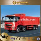 CAMC H08 8x4 30 ton left hand drive tipper truck