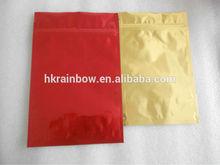 grip seal mylar golden virginia tobacco poly foil bag with zipper