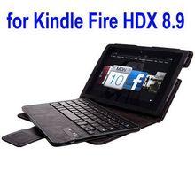 China Supplier Legoo Bluetooth Keyboard Case for Amazon Kindle Fire HDX 8.9