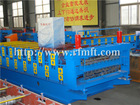 double style roof corrugated and steel sheet rolling mill machine