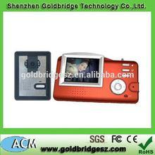 Useful updated 2 wires system video door phone