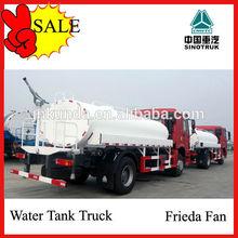20m3 howo stainless steel 10-wheel water tank truck