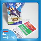 scratch card for mobile phones/scratch card printing machine/custom printing win paper or pvc scratch card