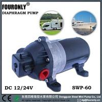 High flow electric garden pump