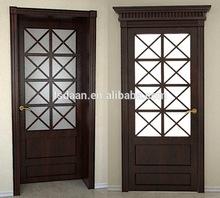 2014 carved interior partition door prefinished interior wood doors