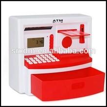 atm money box, pink atm saving bank money box, atm money saving boxes toy