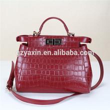 handmade bag,Hand-made Hand-made real leather hand bag,Classical Design real leather hand bag