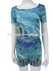 women crop tops wholesale or custom design crop tops full polyester