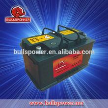 DIN 12v 88ah mf industrial auto car battery