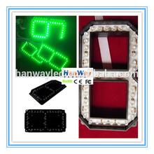 12inch 7 segment led display 4 digit