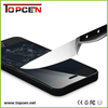 Top Sale tempered glass screen protector for iphone htc , tempered glass film screen protector