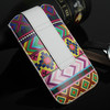 contrast color mobile phone bag, cheap phone pouch, cell phone bag