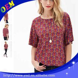2015 t shirt woman china