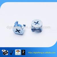 Special shape phillips head aluminium fixing screws