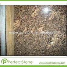 Juparana california l'installazione pavimento di piastrelle lastre e granito giallo pietra angolare