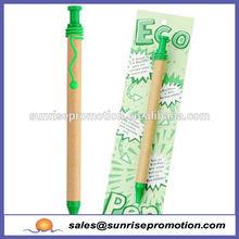 Green tips promotional item eco pen cheap paper pen