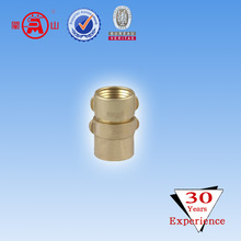 2 Inch Brass short tail fire hose coupling with NH threading