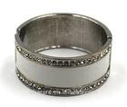 Alloy Bracelet Wrap Rhinestone and Leather Bracelet Hot Sale