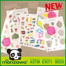 Manzawa motor sticker tape
