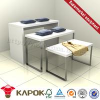 Decorative brand folding paper t-shirt box furniture in china