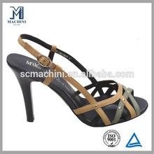 Beautiful girl dress sandals modern high heel shoe