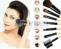 24 PCS professional private Brush Set With Black CaseMakeup