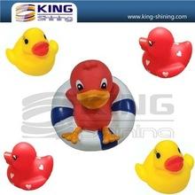 Water control flashing singing duck