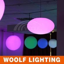3d color changing flashing hanging led balls