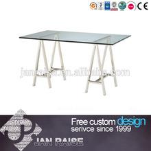 Office Desk w/ Glass Top OK-8176