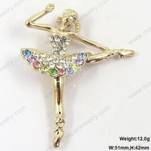 Modern holiday flying butterfly alloy brooch