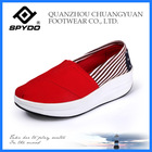 slip on high quality plimsolls casual canvas shoe loafer