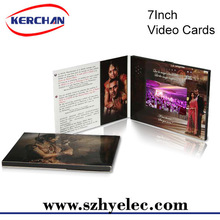 "7"" video greeting card for medical promotional gifts"