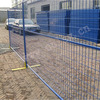 Steel outdoor temporary dog fence