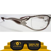 Sport metallo cornici ab436- 2838, oro montature per occhiali, cornici in plastica