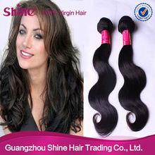 Top quality Fashion hairstyle 100% virgin brazilian remy human hair body wave