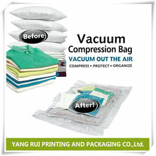 Made in china alibaba Clothing Zip lock Bag, Vacuum compression Bag for packing T-shirt